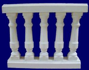 Balustraden Baluster Gelander Zaune Balkon Zaun Saulen Gartenmauer