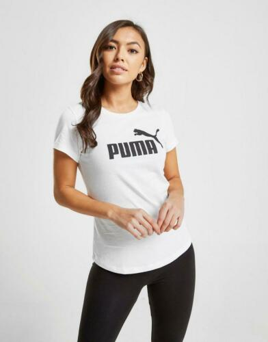New Puma Women's Core T-Shirt White