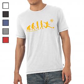 Wolverhampton Wanderers F.C - Personalised Mens T-Shirt (EVOLUTION)