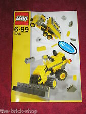Notice Building instruction booklet / 40 creations / LEGO set 4096 Micro Wheels