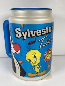 Vtg Looney Tunes Sylvester Tweety Walmart 1994 Collector Series Coca Cola Mug