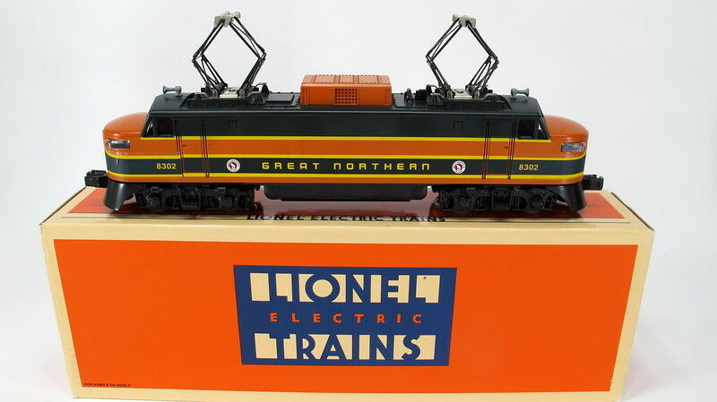 Lionel 6-18302 Great Northern Electric Locomotive 8302 With Original Box