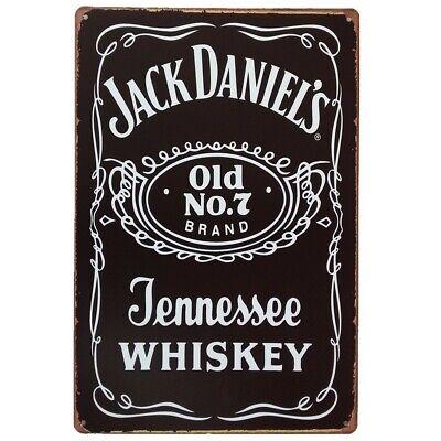 N// A Have a Drink of Jack Daniels Targhe in Metallo Vintage Wall placca Decorazione della Parete di Metallo dEpoca Adesivi murali Regalo Cafe Bar Pub Compleanno