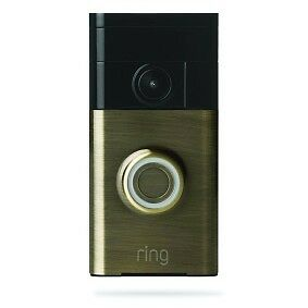 Ring Wi-Fi Enabled Video Doorbell with Audio Intercom Front Door Security Camera