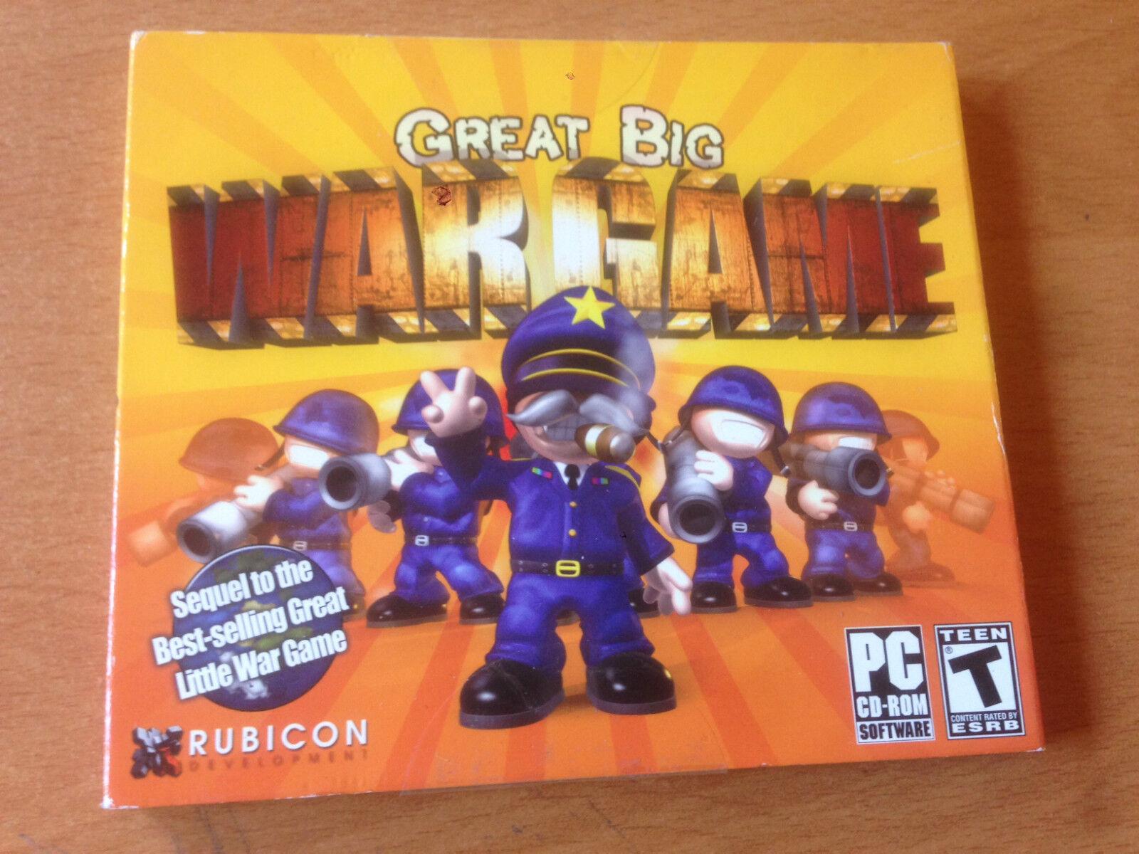 Great Big War Game (PC, 2012)