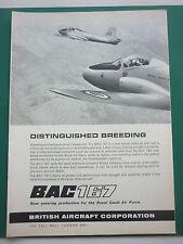 3/1966 PUB BRITISH AIRCRAFT BAC 167 ROYAL SAUDI AIR FORCE / HERALD 700 AD