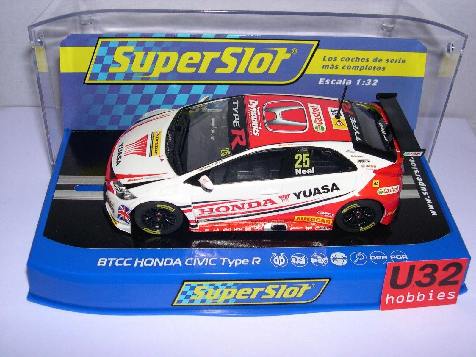Superslot H3734 Honda Civic Type R Btc 2015 Matt Neal Scalcextic Storbritannien