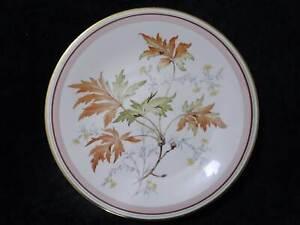 DDR Reichenbach Porzellan Zierteller Prunkteller - Vintage -Blätter Blüten