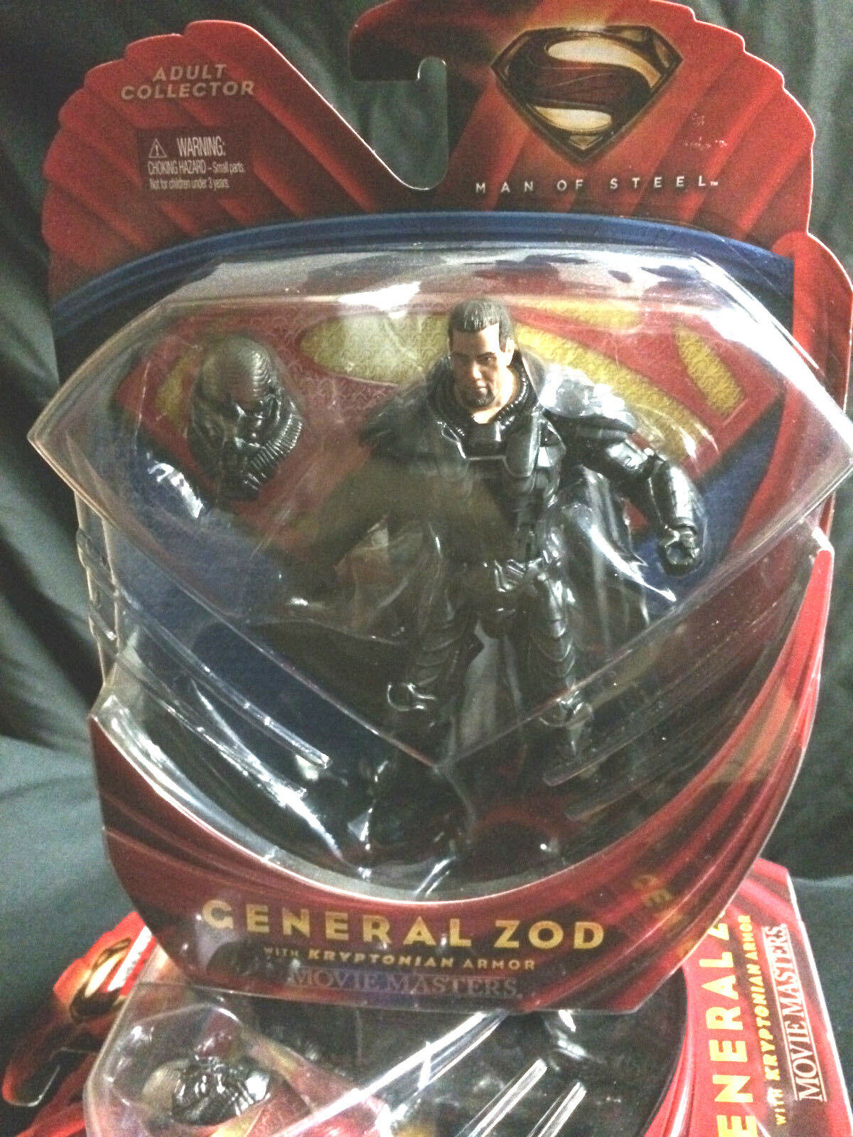 Superhomme Man of Steel Mattel Movie Masters GENERAL ZOD Kryptonian  Armor Figure  marques de créateurs bon marché