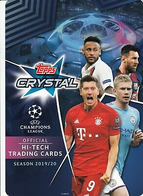 2019 2020 TOPPS CRYSTAL UEFA CHAMPIONS LEAGUE MASTER ICON UCL