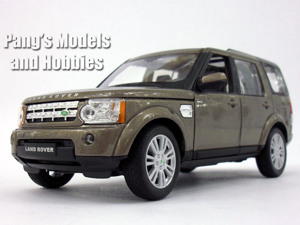Land Rover Discovery 4 1 24 Scale Scale Scale Diecast Metal Model by Welly - COPPER 6cd51a