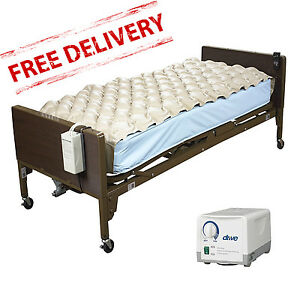 Medical Bed Med Aire Air Mattress Alternating Pressure ...