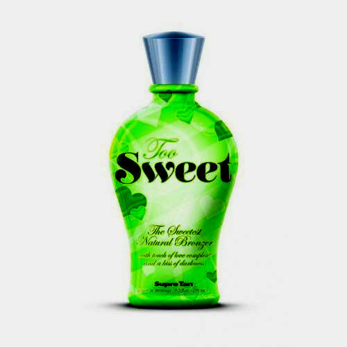 SUPRE TAN - TOO SWEET - THE SWEETEST NATURAL BRONZER - INDOOR TANNING LOTION