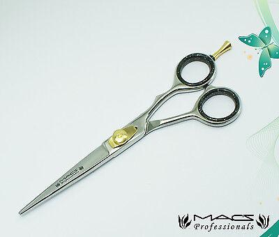 "Macs Professional Razor Edge Barber Hair Cutting Scissors/Shears,With Pouch-6.5"""