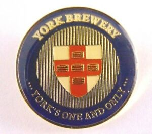 York-Brewery-Pin-Badge-Pub-Ale-House-Bitter-one-and-only