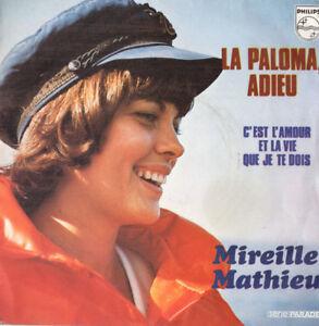 FR-MIREILLE-MATHIEU-La-Paloma-Adieu-C-039-Est-L-039-Amour-Et-La-Vie-45rpm-1973