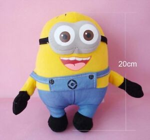 Despicable Me Minion Two Eyes Plush Doll Soft Sound Recorder Talking