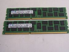 Samsung 16GB (2x8GB) PC3L-10600R DDR3-1333 G7 Dual Rank Memory ECC Registered