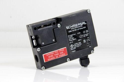 SCHMERSAL Sicherheitszuhalter ohne Betätiger AZM 161SK-12//12rka-024