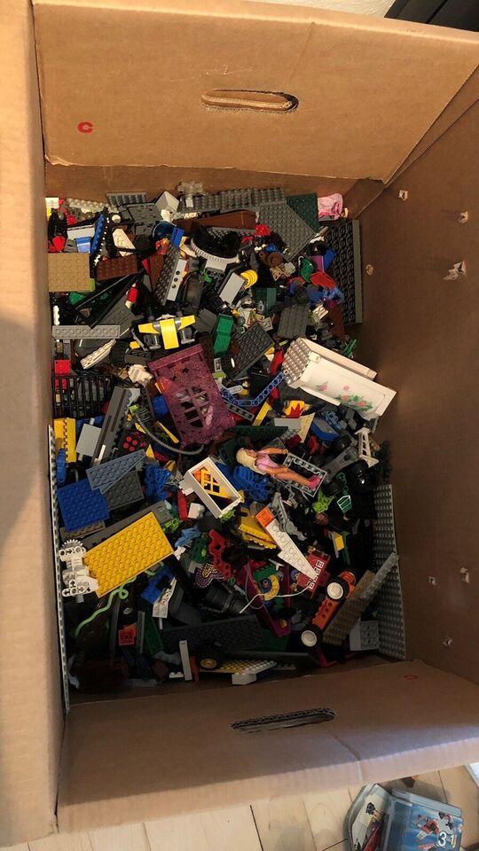 Lego blandet, Mange sæt