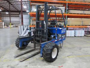 2005 Princeton PBX Piggyback 5,000LBS  Rough Terrain Forklift Lift Truck bidadoo