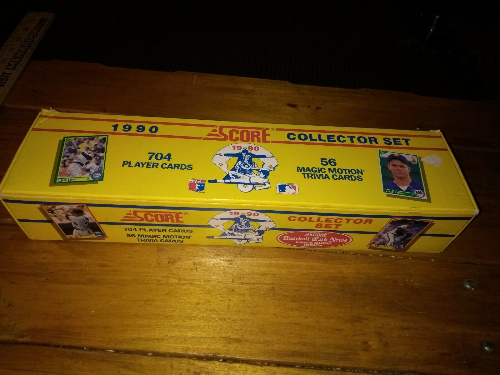 1990 Score Baseball Cards Collector Set Out Of Plastic Box 704 Player Cards