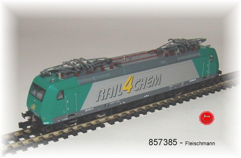 Fleischmann 857385  E-Lok BR 185 532-9  RAIL4CHEM    neu in OVP 6700bb