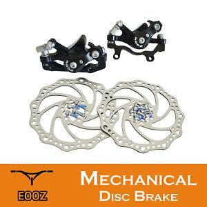 Bicycle Rear Disc Brake Device Mountain Bike Metal Disc Brake Mechanical Caliper