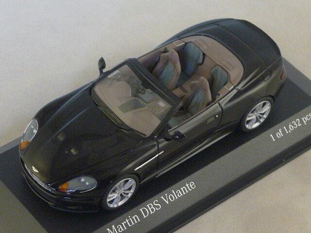 MINICHAMPS 400137930 - ASTON MARTIN DBS VOLANTE - 2010 black    1 43