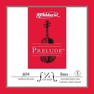 D'Addario J61414M Prelude Bass E 1/4 Med