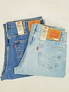 Levis-Mens-541-Athletic-Fit-Tapered-Leg-Stretch-Denim-Blue-Jeans-New