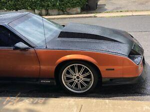 1992 Chevrolet Camaro black
