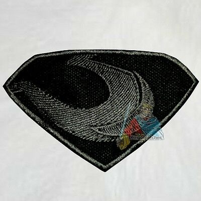 Superman Zod Suit Logo Embroidered Patch Super Friends Powers Man of Steel
