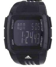 Adidas Performance Black Dial Black Polyurethane Mens XL Duramo Watch  ADP6034