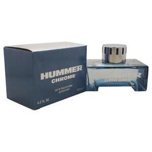 Hummer-Chrome-Cologne-by-Hummer-4-2-oz-EDT-Spray-for-Men-NEW