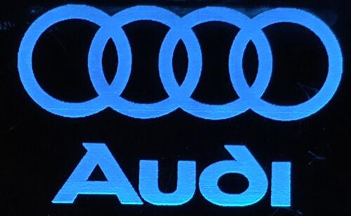 ILLUMINATED LIGHT UP CAR BADGE LOGO SIGN PLAQUE BMW LANDROVER AUDI MERCEDES