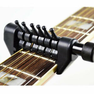 new multifunction capo open tuning spider chords for acoustic guitar strings plv ebay. Black Bedroom Furniture Sets. Home Design Ideas