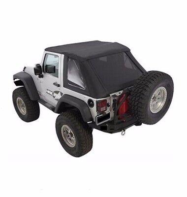 Smittybilt 9073235 Bowless Combo Top for 07-16 Jeep JK Wrangler 2 Door