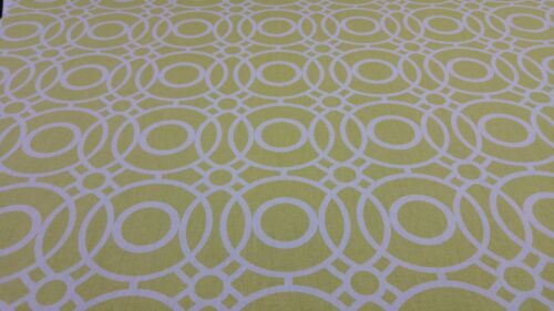 Clarke y Clarke Eclipse cítricos diseñador Cortina tapicería Tela Artesanal