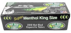 Hot-Rod-Super-Menthol-Green-3-Boxes-200-Tubes-Box-Tobacco-Cigarette-Black