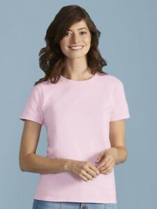 Gildan-Ultra-Cotton-Women-039-s-T-Shirt-2000L