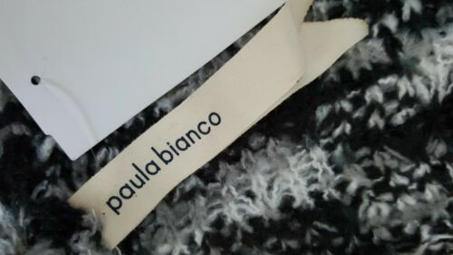O//S MSRP $78 /<NEW+SHIPS FREE Paula Bianco Multi Marled Infinity Scarf in SMOKE