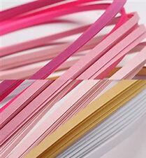 120 strisce quilling basse 3 mm tonalità rosa  2