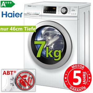Waschmaschine A+++ Frontlader freistehend 1400 Umin 7kg Waschautomat Haier NEU