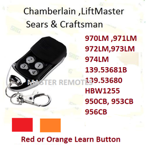 971LM Liftmaster SEARS Craftsman One Button Security Remote 390mhz COMPATIBLE