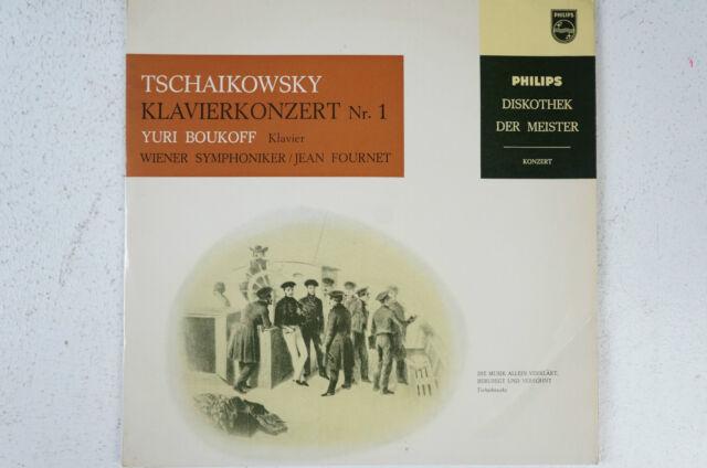 Tschaikowsky Klavierkonzert 1 Yuri Boukoff Wiener Symphoniker Jean Fournet  (LP7) | eBay