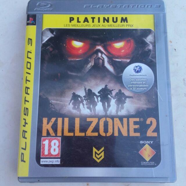 KILLZONE 2 -platinium- PS3- OCCASION  complet ! livraison OFFERTE !