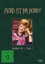 MORD IST IHR HOBBY-STAFFEL 10-TEIL 1 3 DVD NEU