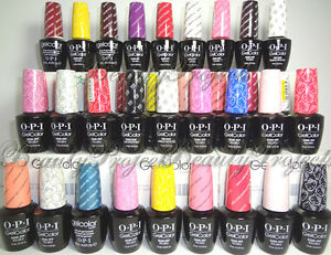 Image Is Loading OPI GelColor Soak Off Gel Nail Polish LED