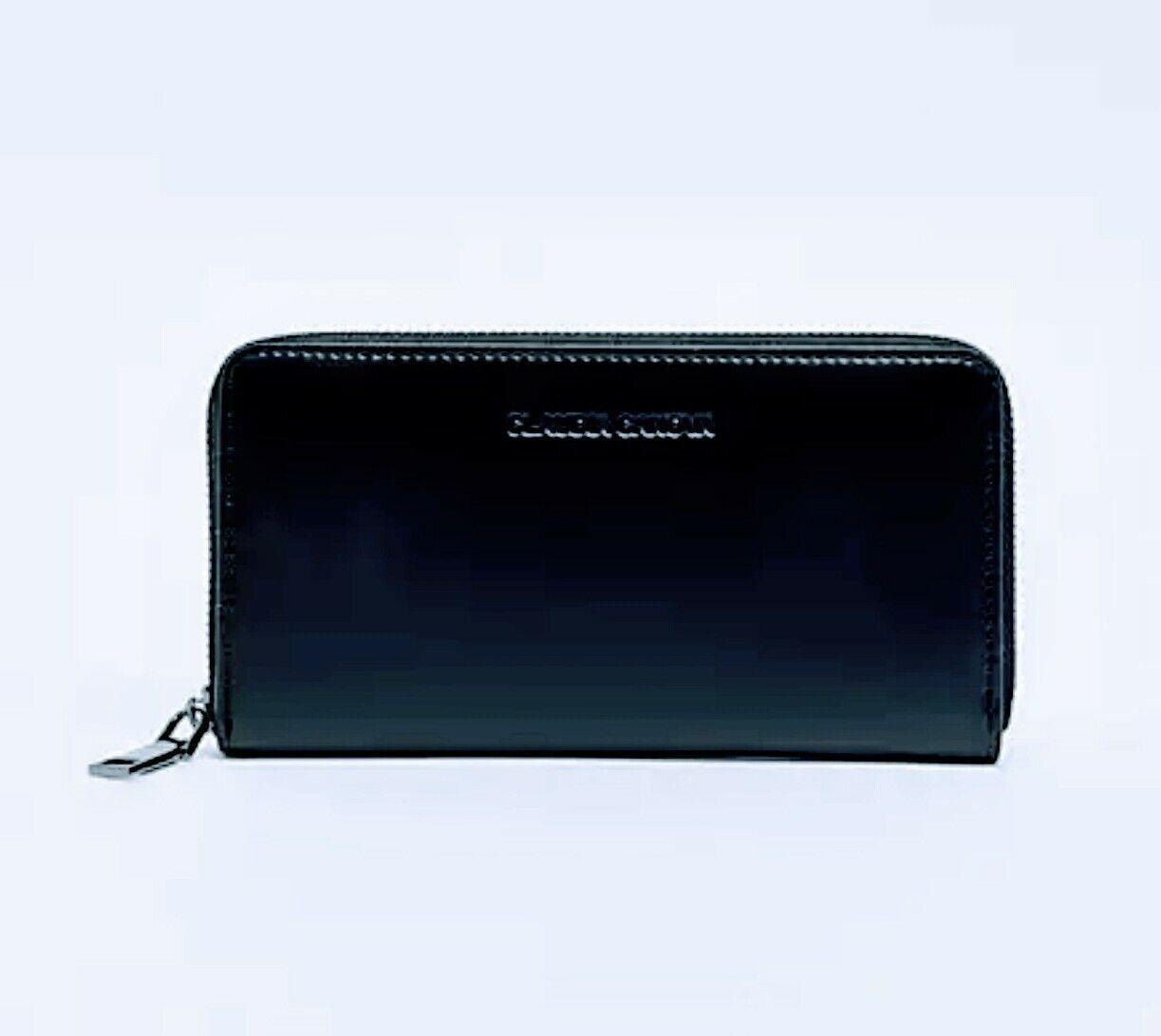 Monedero😊Claudia Canova large zip around wallet in black🥰free shipping ( #2 )